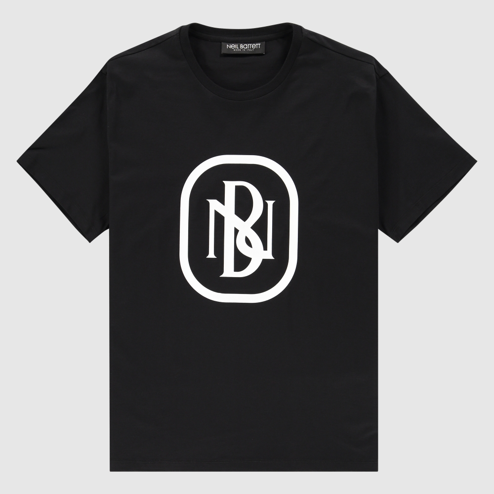 Regular-fit NB monogram print T-Shirt