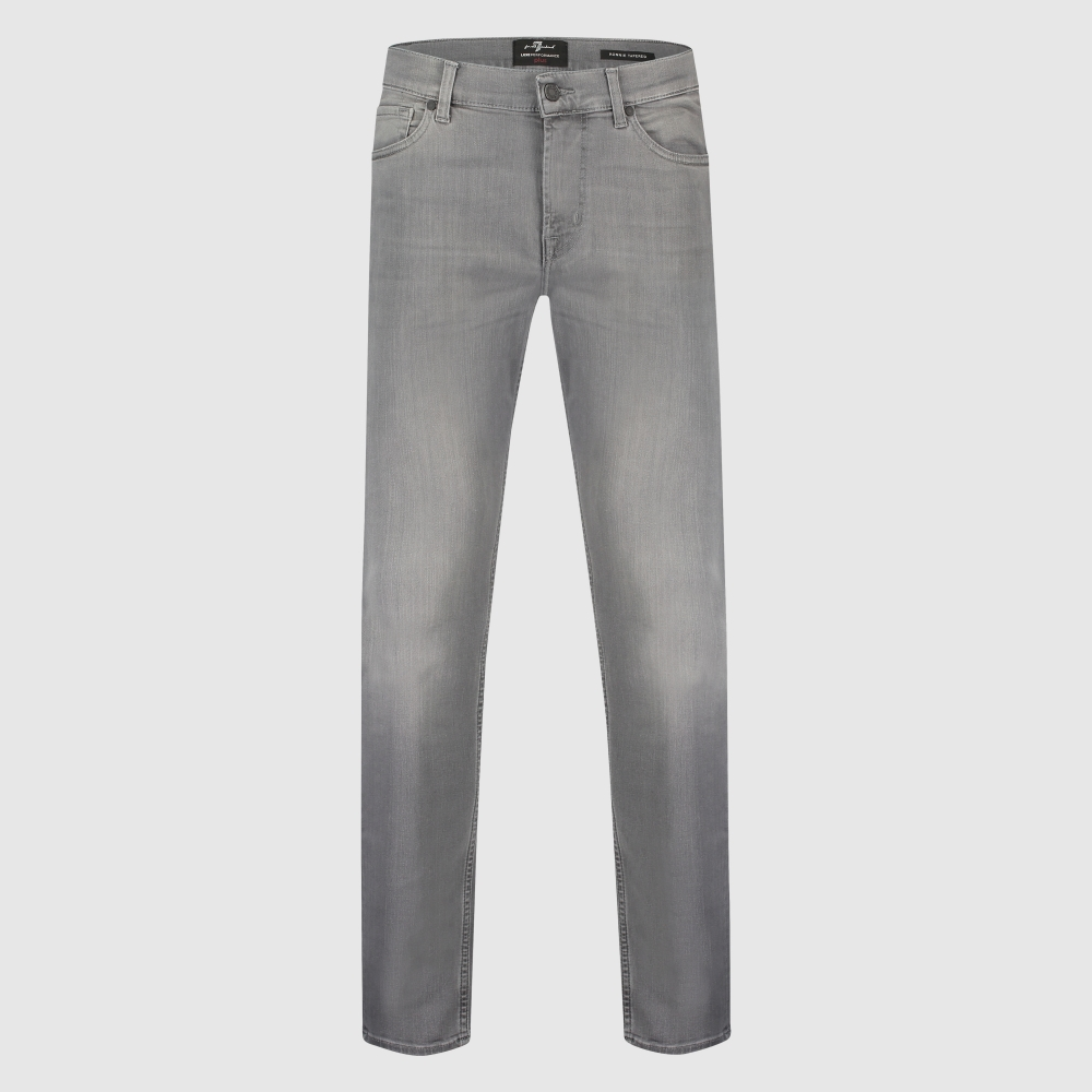 Slim-fit 'Ronnie' tapered stretch jeans