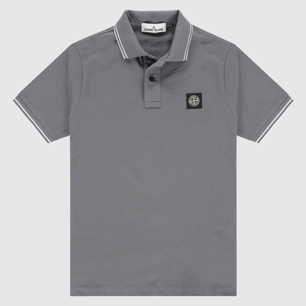 Slim-fit piqué polo