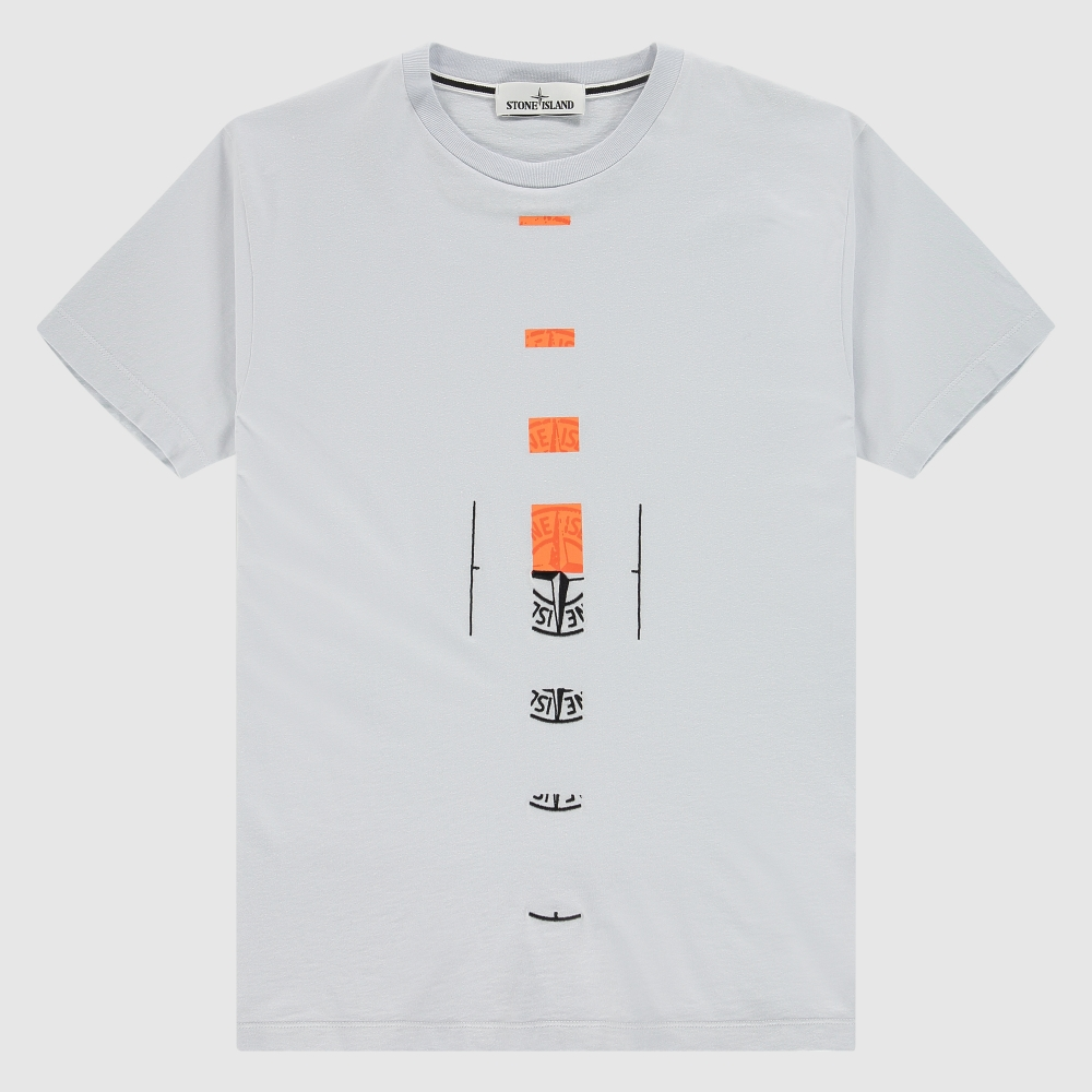 Regular T-shirt met front-back print