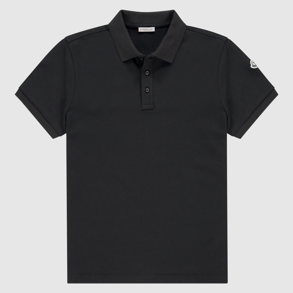 Basic slim-fit polo