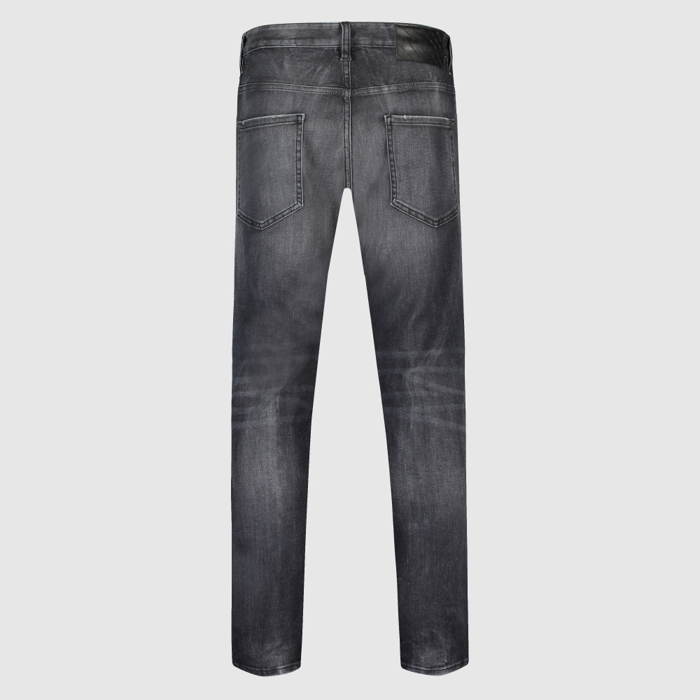 Slim faded jeans