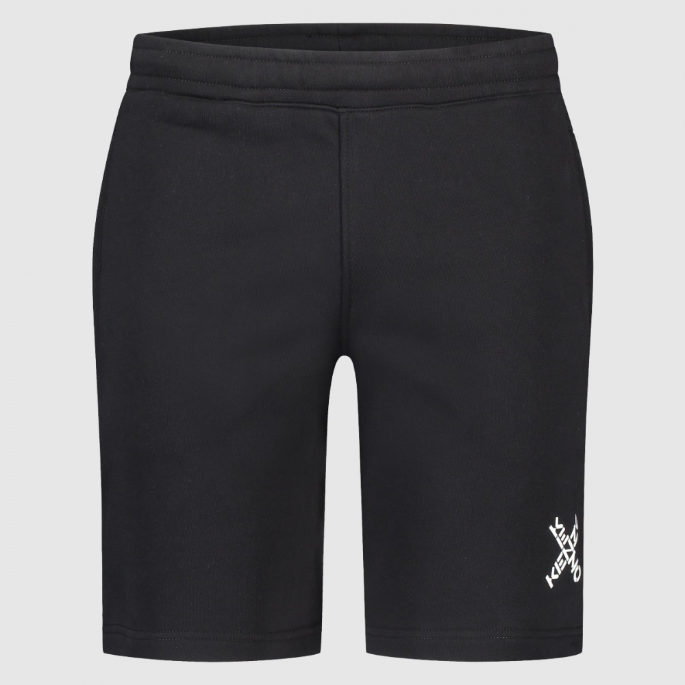 Regular-fit Little X short