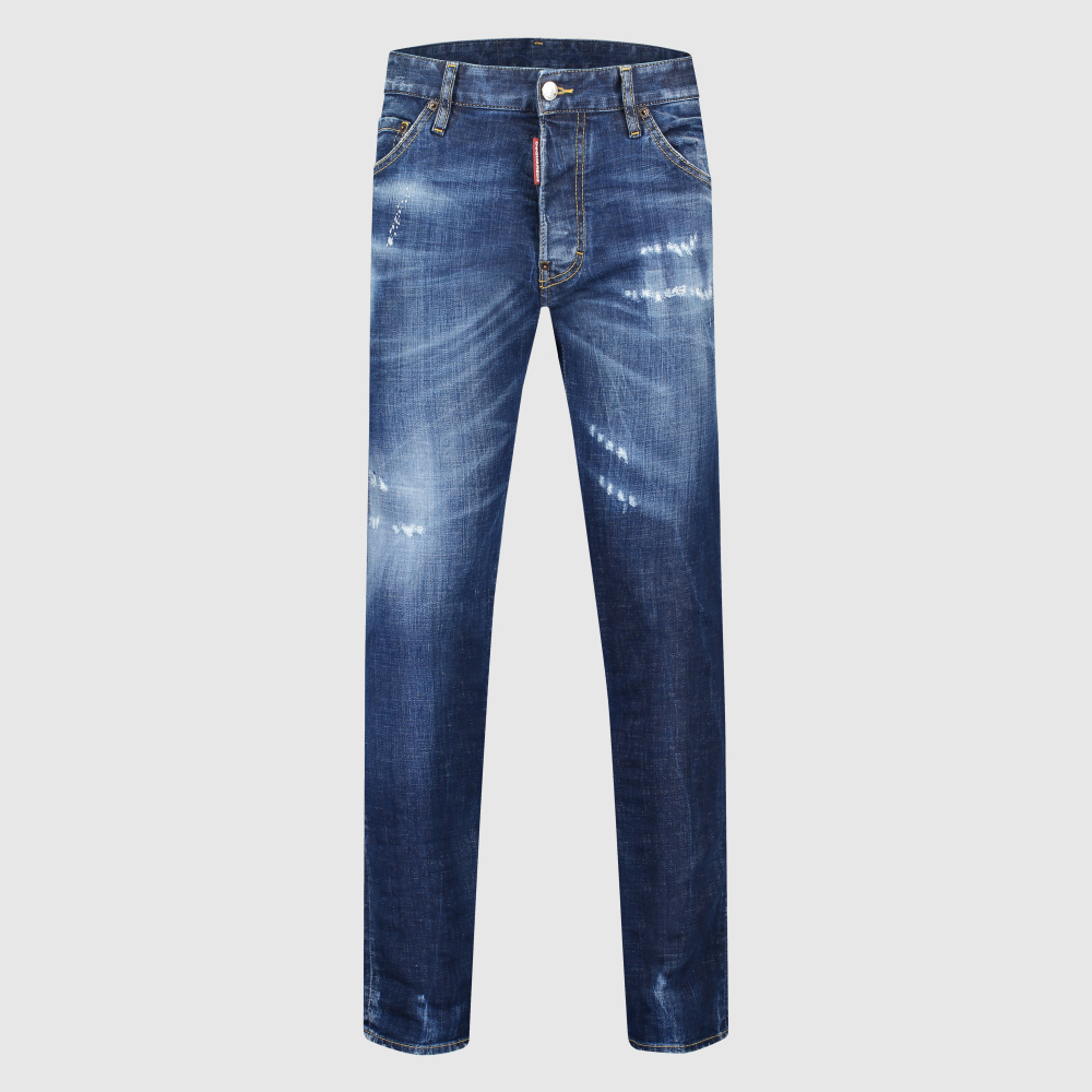 Distressed slim-fit Cool Guy jeans
