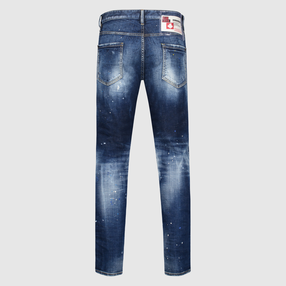 Regular-fit distressed Cool Guy jeans
