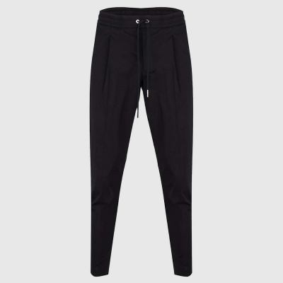 Slim-fit broek in stretch-katoen