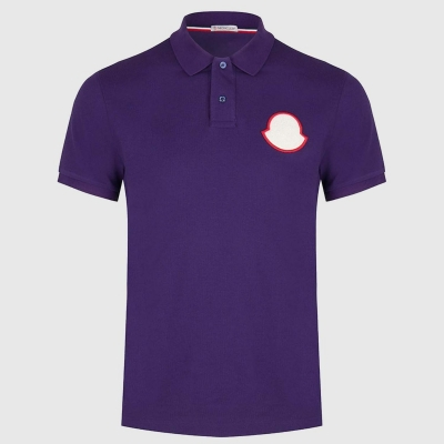 Slim-fit korte mouwen polo