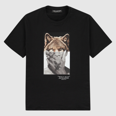 Regular-fit Wolfman print T-Shirt