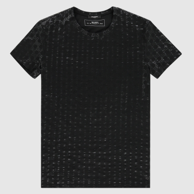 Regular-fit monogram pattern T-Shirt