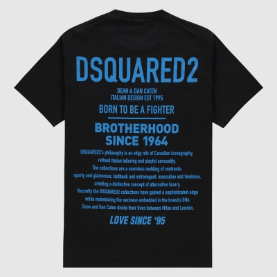 Slim-fit 'Brotherhood' T-shirt