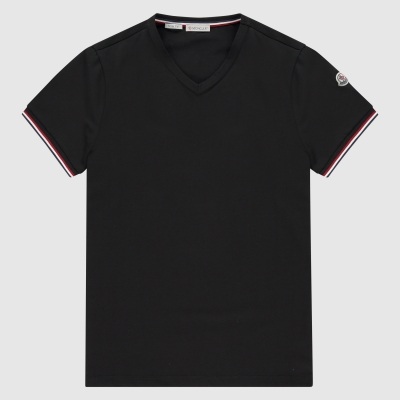 Slim-fit V-hals T-shirt