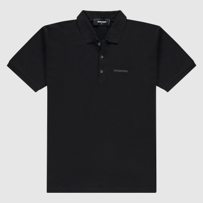 Slim-fit katoenen polo
