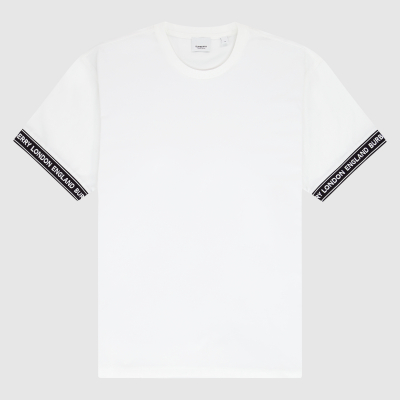 Logo tape oversized T-shirt