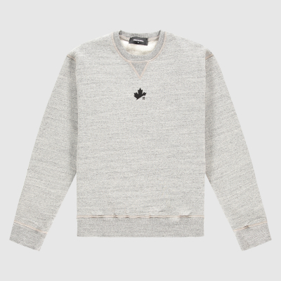 Regular-fit D2 Leaf sweater