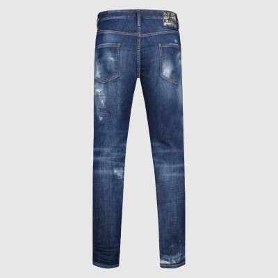 Slim-fit distressed Cool Guy jeans